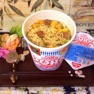 日清ポークチャウダーヌードル実食 2021/9/28発売