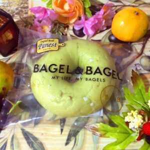 BAGEL & BAGEL ベーグル(ピスタチオホワイトチョコ)のパッケージ 2021/10/11